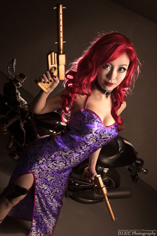 Secret Agent Miss Fortune Cosplay Miyuki Cosplay
